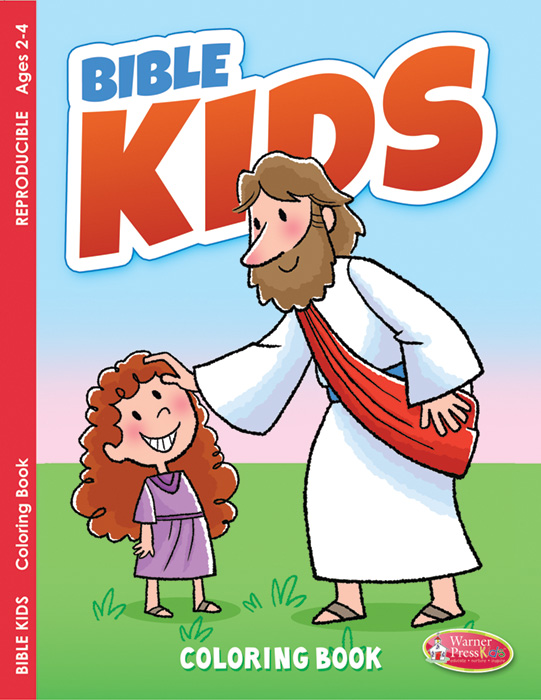 Coloring Book 16pg - General - Bible Kids (2-4) Hermitage